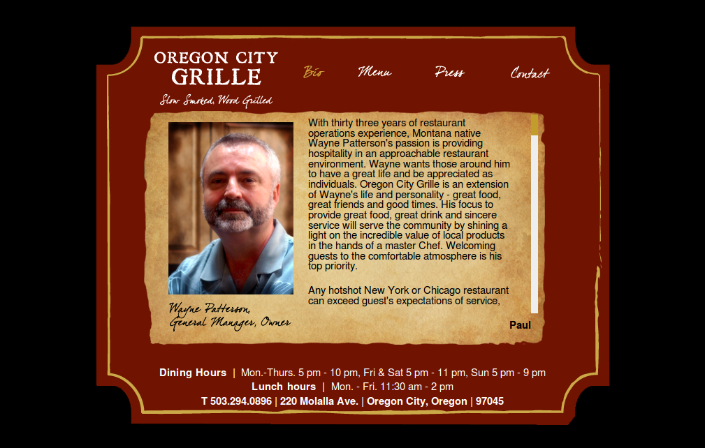 Oregon City Grille