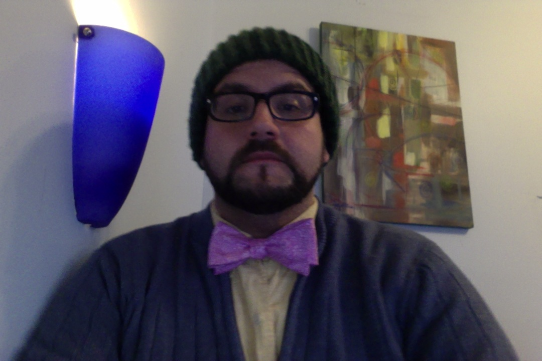 Photo on 1-3-13 at 4.42 PM of me in a bow tie