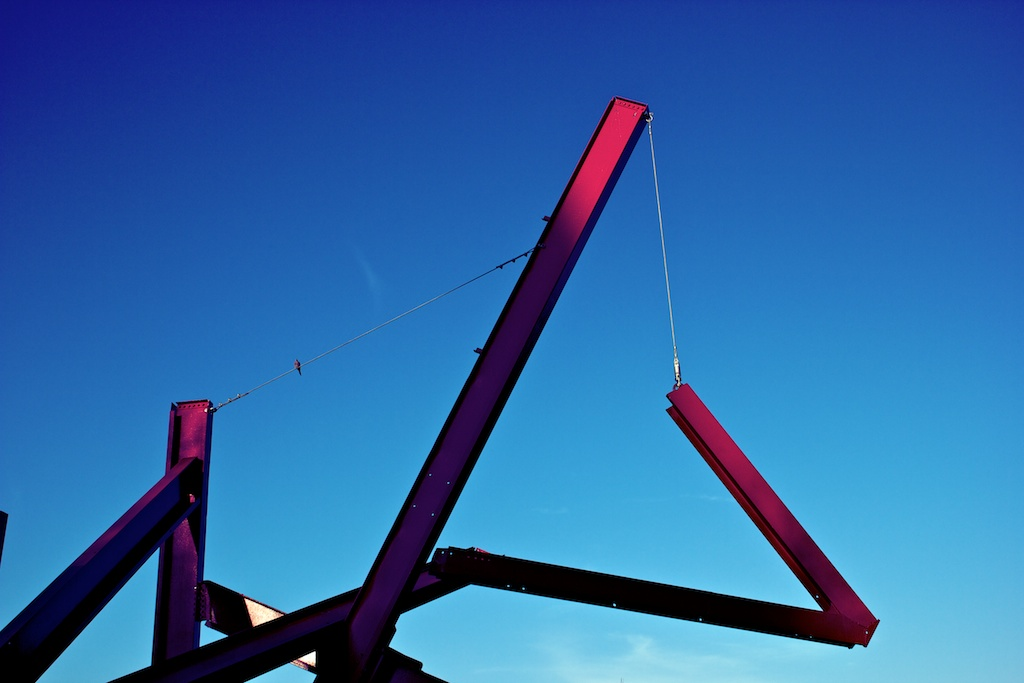 Are Years What, a sculpture by Mark di Suvero.