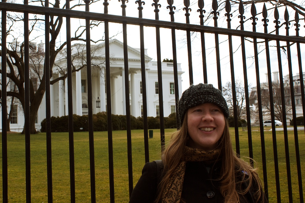 @designsimply in front of the white house