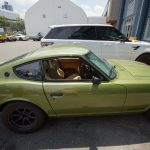 Green 1970's Nissan 7