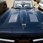 1963 Corvette Stingray. Black.