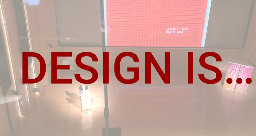 Lessons I learned from #sndnyc: What is Design?