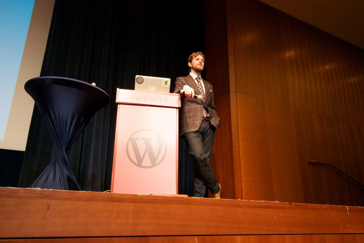 WordCamp SF 2014 keynote by Matt Mullenweg